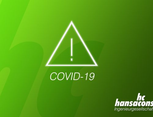 hansaconsult Ingenieurgesellschaft mbH Statement on COVID-19